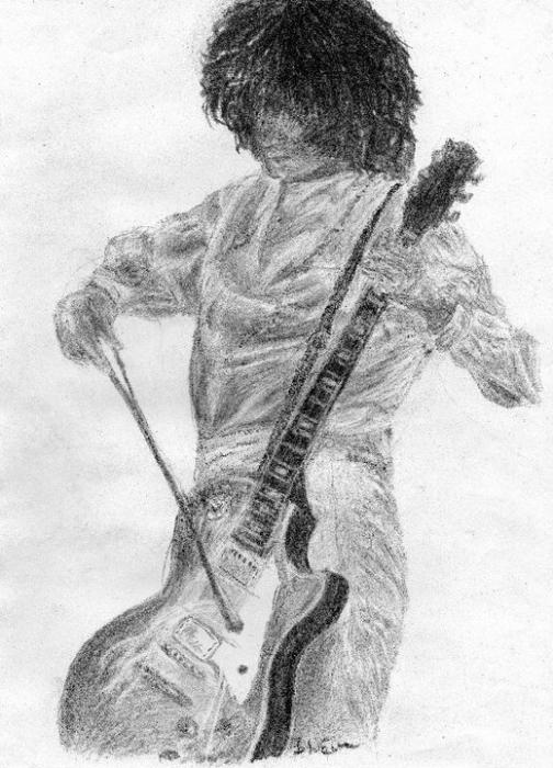 Jimmy Page par Just-a-LittleDreamer